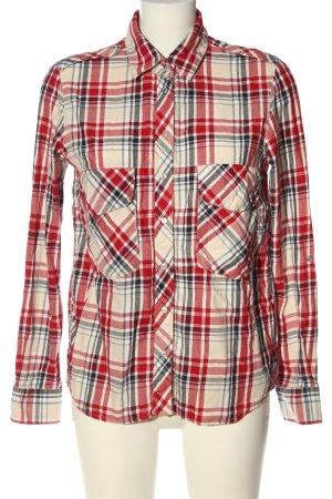 Zara Woman Langarmhemd Allover-Druck Casual-Look