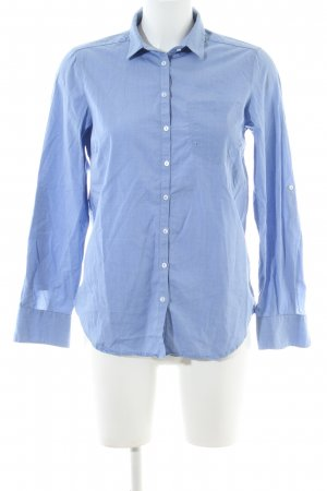 Zara Woman Langarmhemd blau Business-Look
