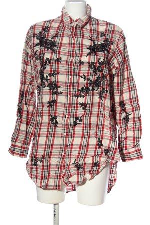 Zara Woman Langarmhemd Blumenmuster Elegant