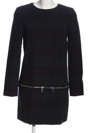 Zara Woman Langarmkleid Karomuster Business-Look