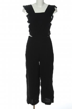 Zara Woman Peto negro look casual