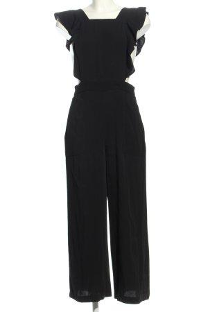 Zara Woman Overall zwart casual uitstraling
