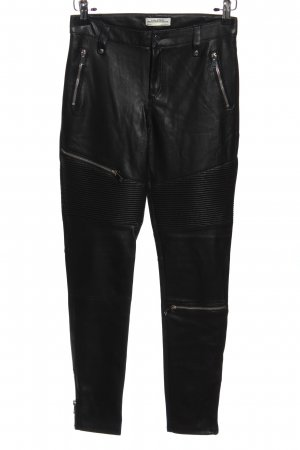 Zara Woman Leather Trousers black casual look