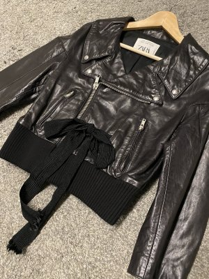 Zara woman limited schwarz black neu 279€ cropped