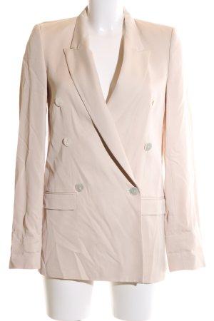 Zara Woman Long-Blazer nude Business-Look