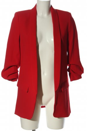 Zara Woman Long-Blazer rot Business-Look