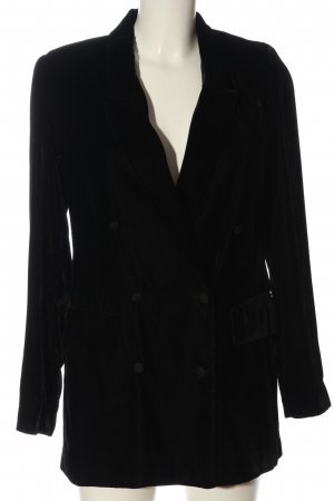 Zara Woman Long-Blazer schwarz Casual-Look