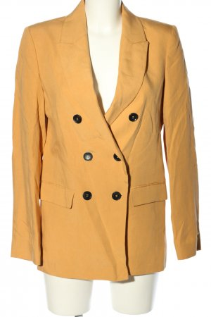Zara Woman Long-Blazer hellorange Business-Look
