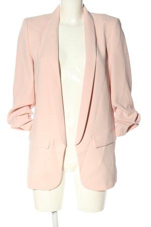 Zara Woman Long Blazer pink casual look