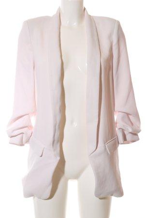 Zara Woman Long-Blazer creme Business-Look