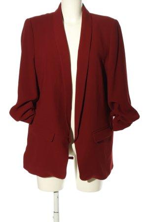 Zara Woman Blazer lungo rosso stile professionale