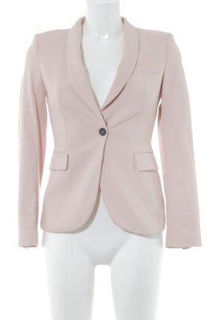 Zara Woman Long-Blazer rosé Business-Look