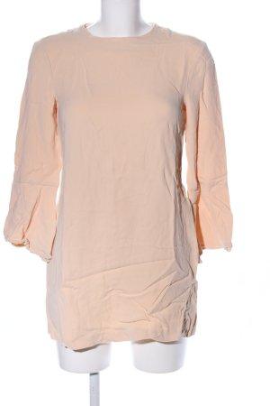 Zara Woman Long-Bluse nude Casual-Look