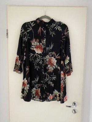 Zara Woman Blusa larga negro