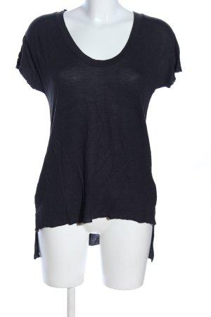 Zara Woman Longshirt schwarz Casual-Look