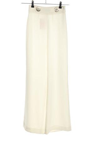 Zara Woman Marlenehose creme Casual-Look