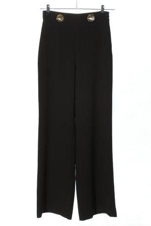 Zara Woman Marlenehose schwarz Business-Look