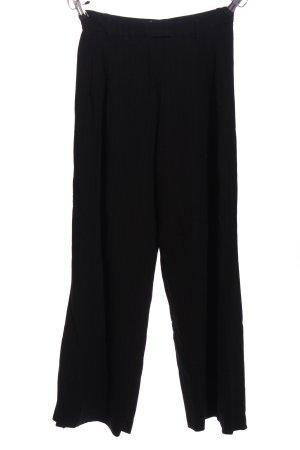 Zara Woman Spodnie Marlena czarny W stylu biznesowym