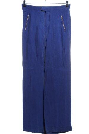 Zara Woman Marlene Trousers blue casual look