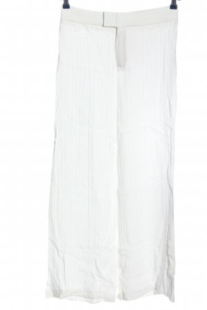 Zara Woman Marlenehose weiß Casual-Look
