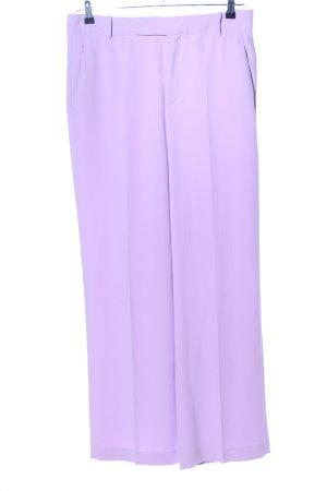 Zara Woman Marlene Trousers lilac casual look