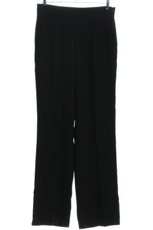 Zara Woman Pantalon Marlene noir style d'affaires
