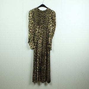 ZARA WOMAN Maxikleid Gr. XS Animalprint (21/01/077*)