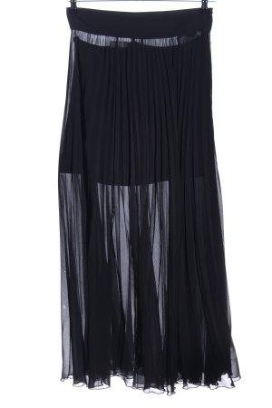 Zara Woman Maxirock schwarz Elegant