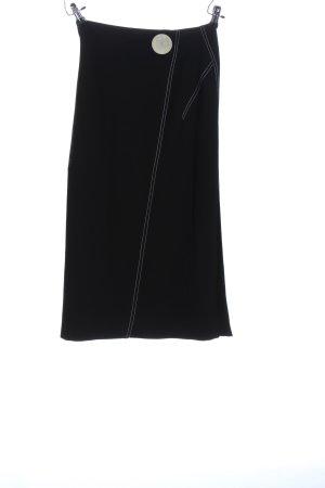 Zara Woman Maxi Skirt black-light grey casual look
