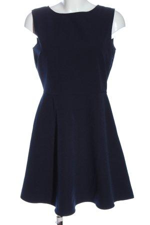 Zara Woman Vestido cut out azul look casual