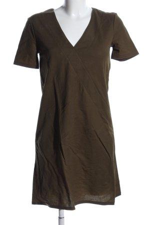 Zara Woman Midikleid khaki Casual-Look