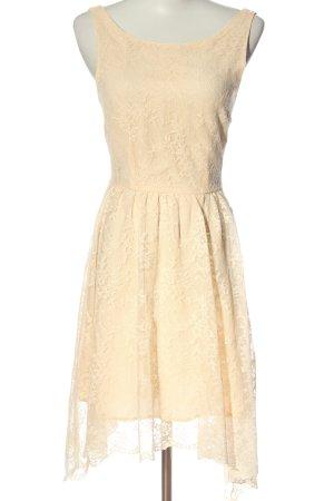 Zara Woman Midikleid creme Casual-Look