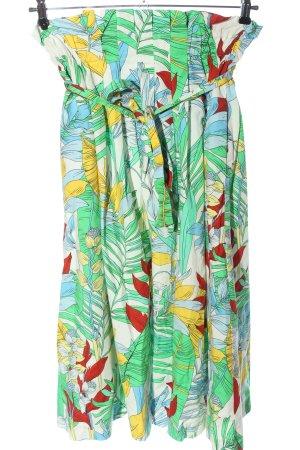 Zara Woman Spódnica midi Na całej powierzchni W stylu casual