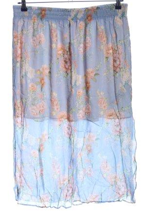 Zara Woman Glockenrock Blumenmuster Casual-Look