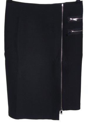 Zara Woman Midirock schwarz Business-Look