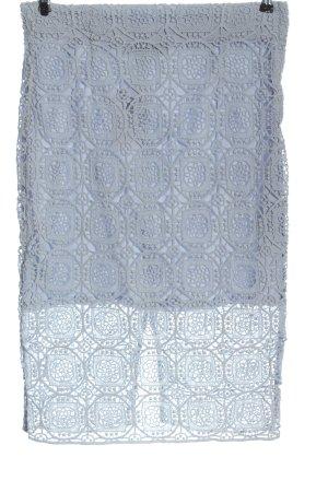 Zara Woman Spódnica midi niebieski Elegancki