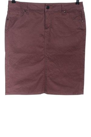 Zara Woman Spódnica midi czerwony W stylu casual