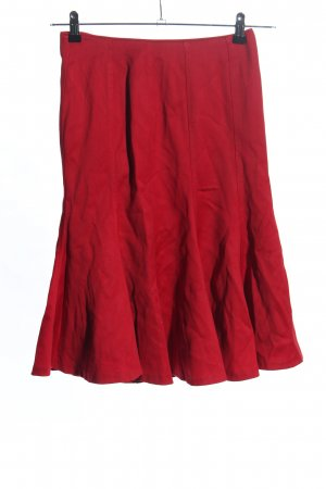 Zara Woman Midirock rot Casual-Look