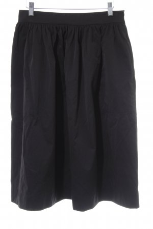 Zara Woman Spódnica midi czarny W stylu casual