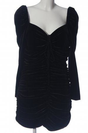 Zara Woman Minikleid schwarz extravaganter Stil