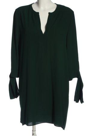 Zara Woman Minikleid grün Business-Look