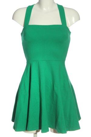 Zara Woman Minikleid grün Casual-Look