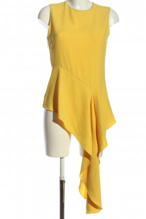 Zara Woman Minikleid blassgelb Casual-Look