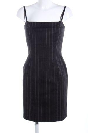Zara Woman Minikleid schwarz-weiß Streifenmuster Business-Look
