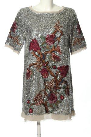 Zara Woman Minikleid abstraktes Muster Elegant