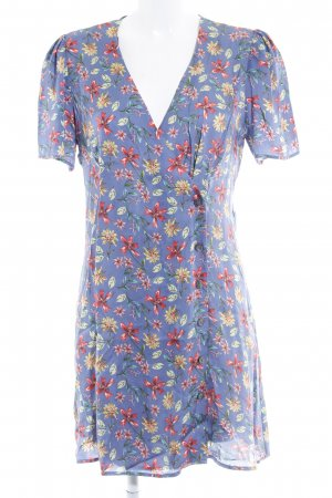 Zara Woman Minikleid Blumenmuster