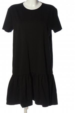Zara Woman Minikleid schwarz Casual-Look