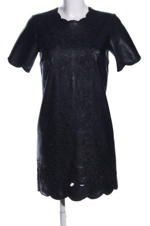Zara Woman Robe courte noir élégant