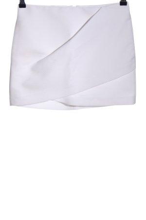 Zara Woman Minirock weiß Casual-Look
