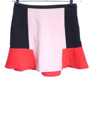 Zara Woman Minirock mehrfarbig Elegant